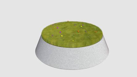 Gras testrender by KoppKnakka