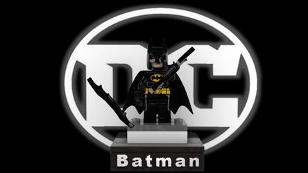Batman Statue by KoppKnakka