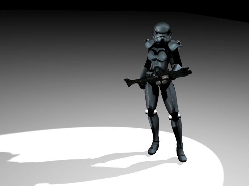 Dark Trooper Girl By Lubre53 On Deviantart