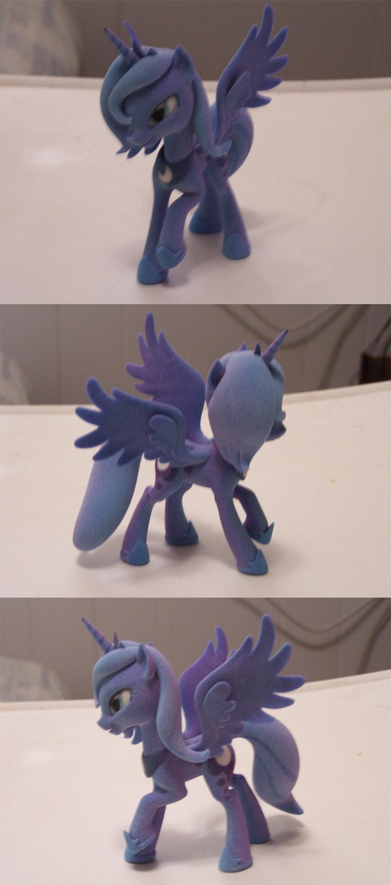 3D Print - Princess Luna by Glaive-Silver