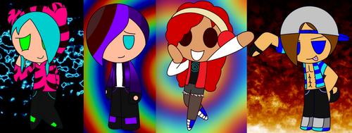 Minecraft Squad by Baliya