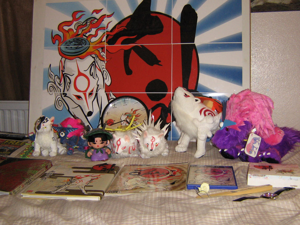 My Okami Collection update. 2.