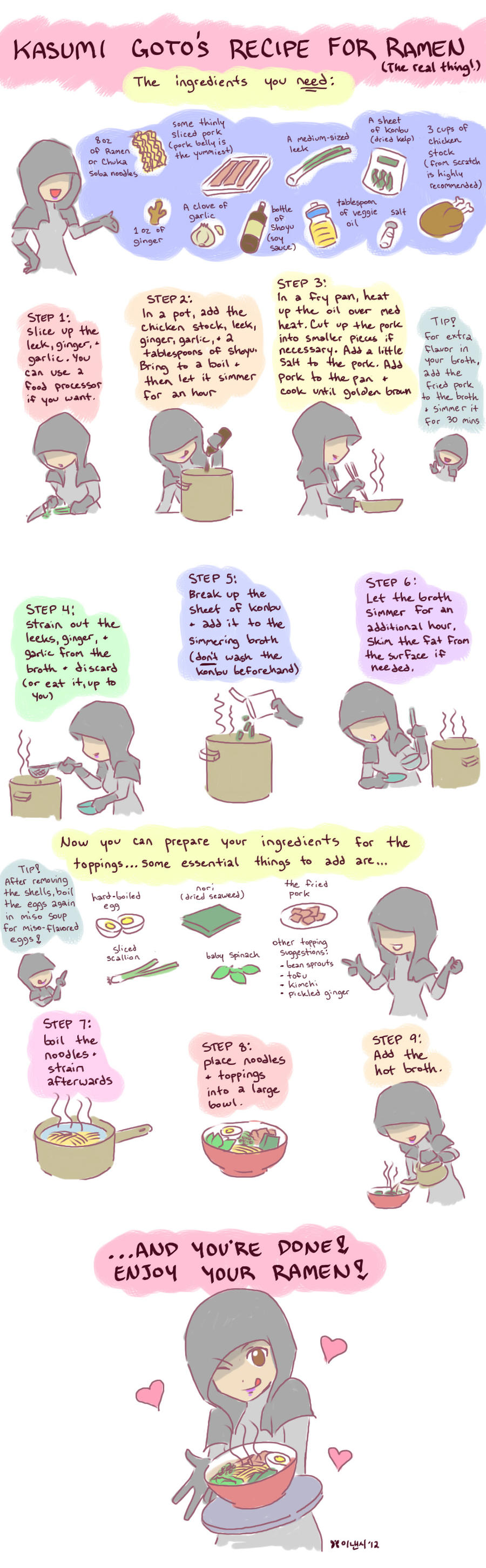 Mass Effect Food Recipes