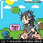 OMG f1ght m3 by Ninjasorris