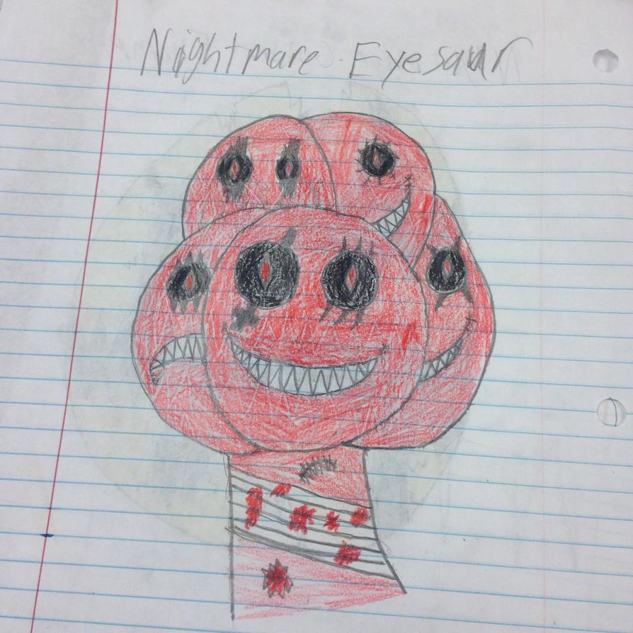 Nightmare Eyesaur by StantheSpider