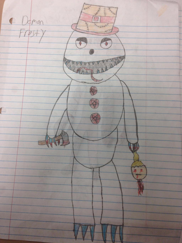 Demon Frosty by StantheSpider