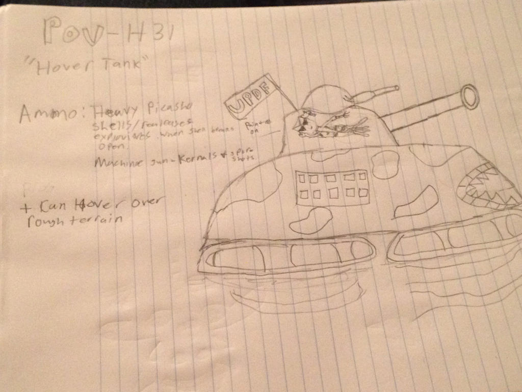 Pot-H31 (The Hover-Tank) by StantheSpider