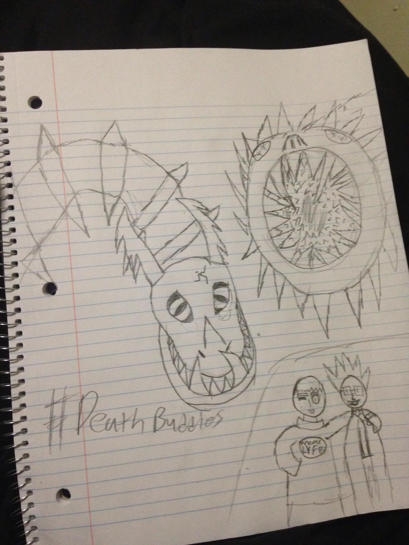 Death Buddies by StantheSpider