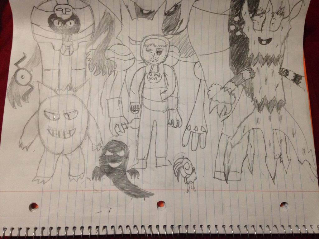 My Pokemon Squad. by StantheSpider