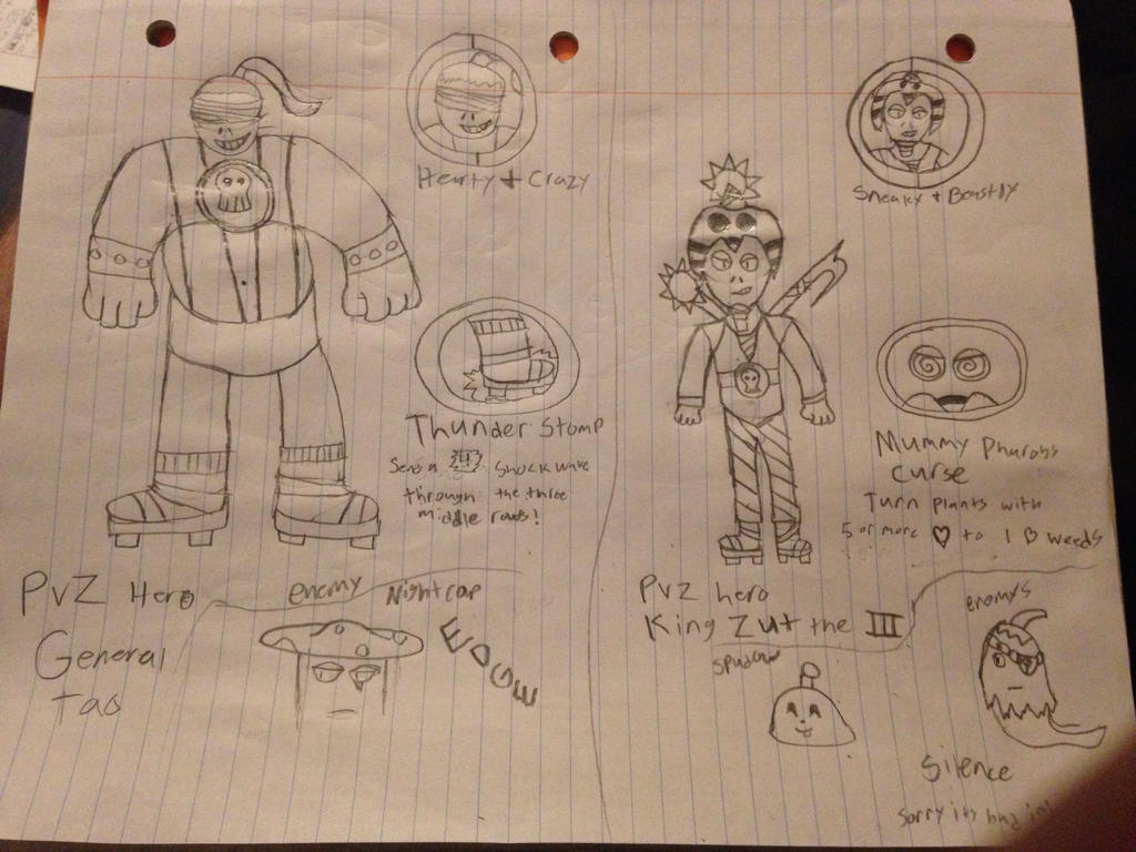PVZ Heros (Zombies) by StantheSpider