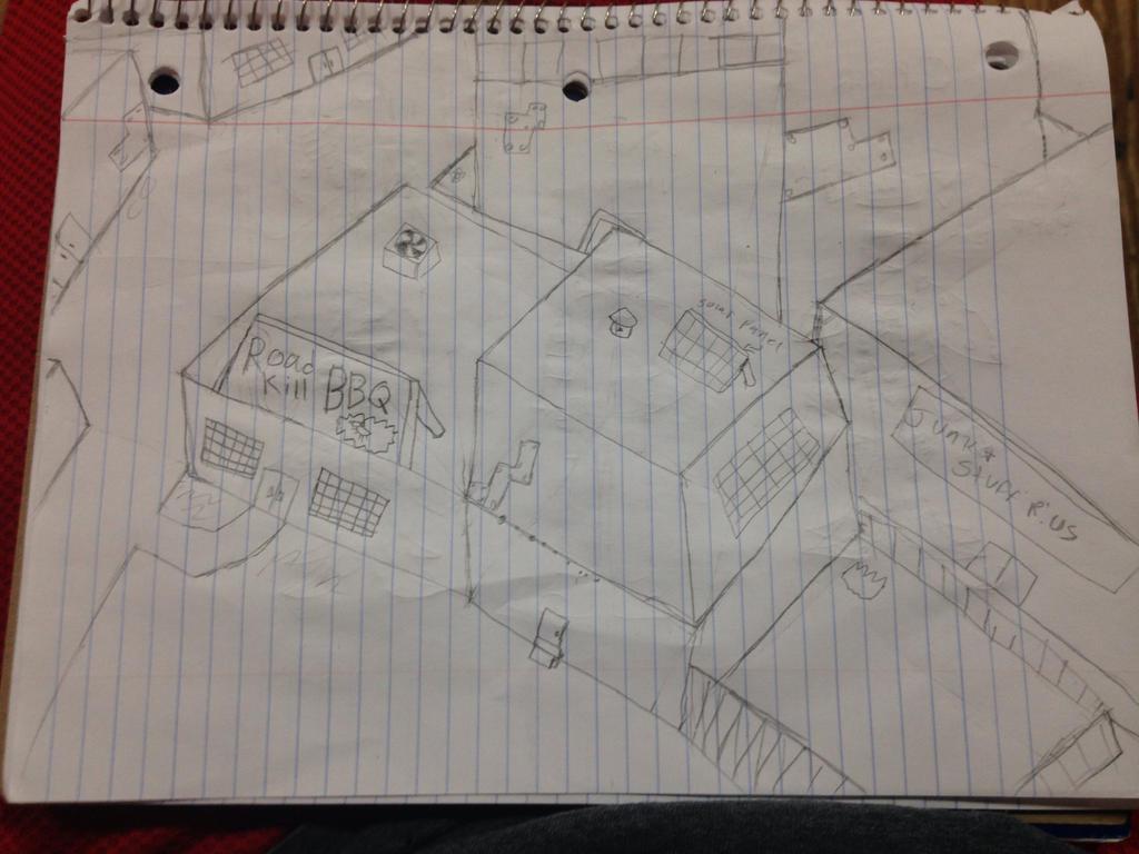 ScrapsVille (Sketch) by StantheSpider