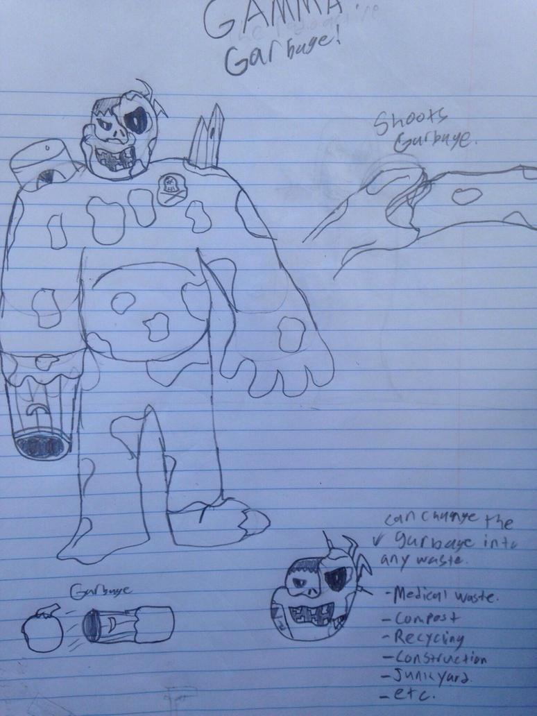 PVZ Zombie Villain (Gamma Garbage!) by StantheSpider