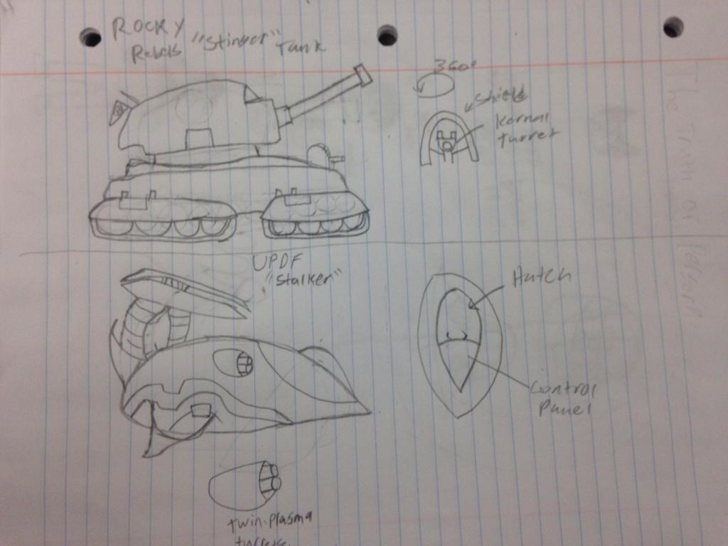 2 Tanks (PvZ) by StantheSpider