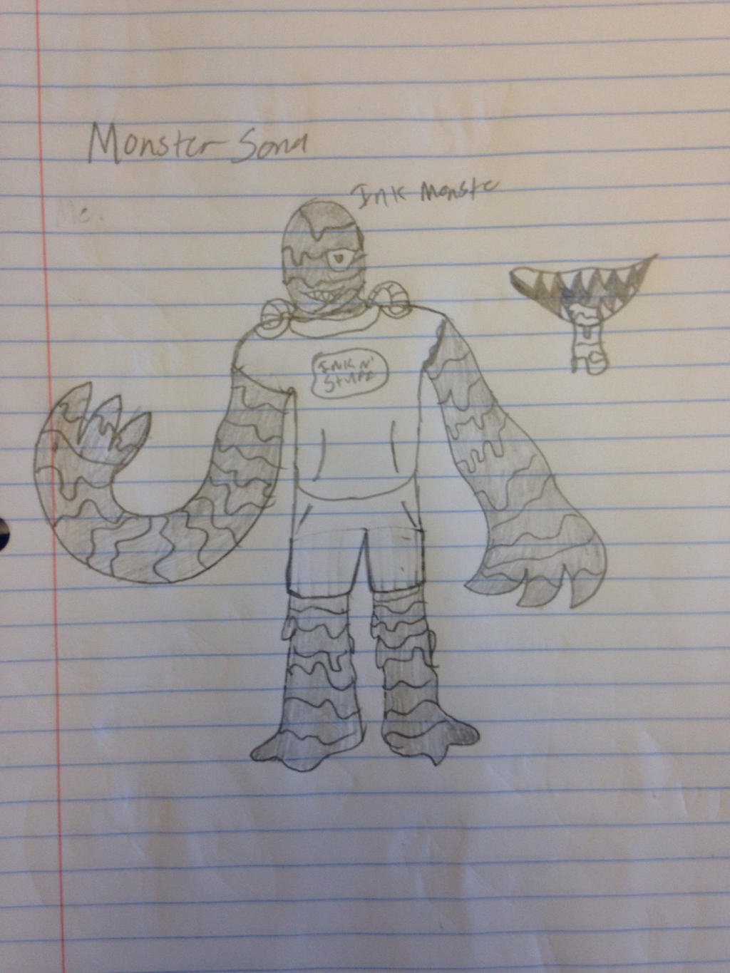 MonsterSona (Name is Stan) by StantheSpider