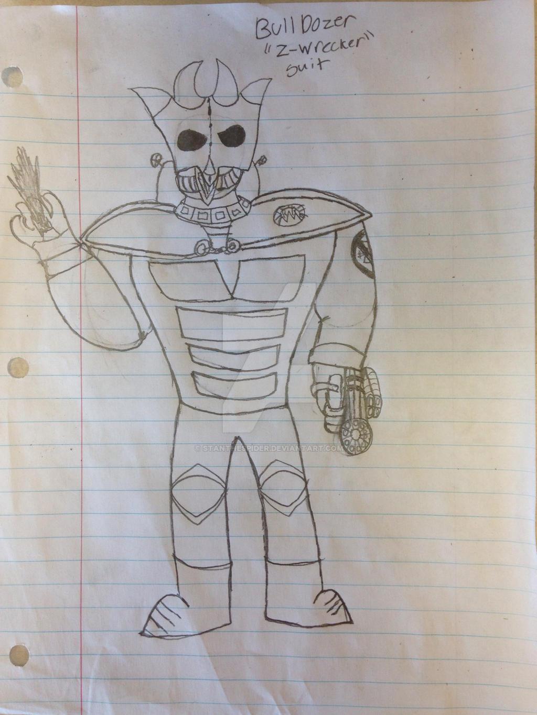 BullDozer (Z-Wrecker Suit) {PvZ} by StantheSpider