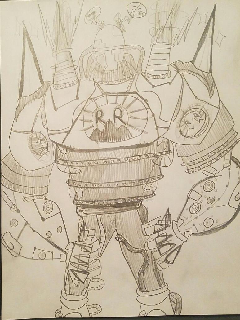 Liberty-Alpha (PvZ, Fan art) by StantheSpider