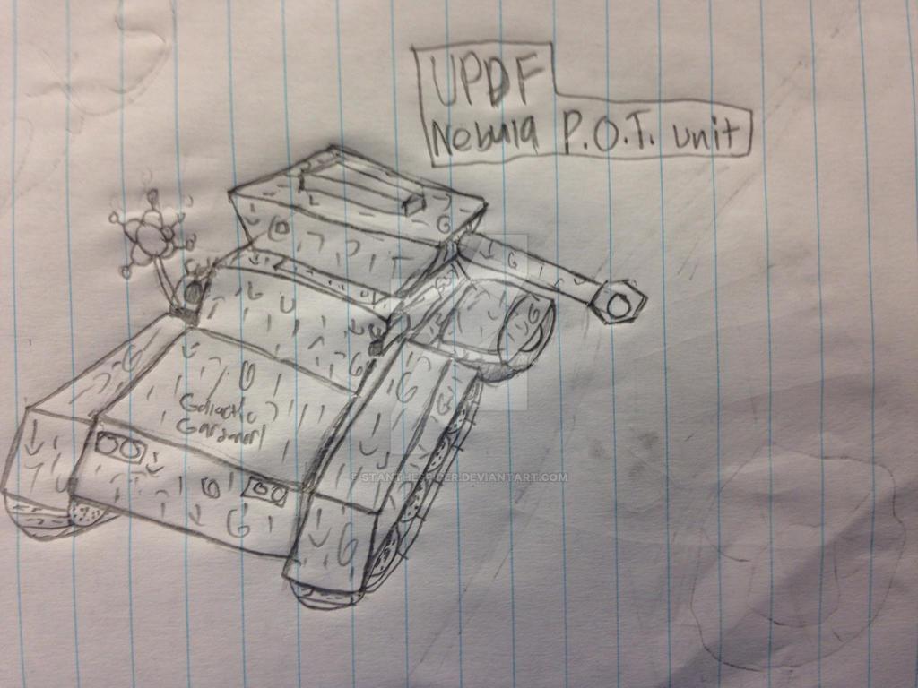 UPDF Nebula P.O.T. Unit by StantheSpider