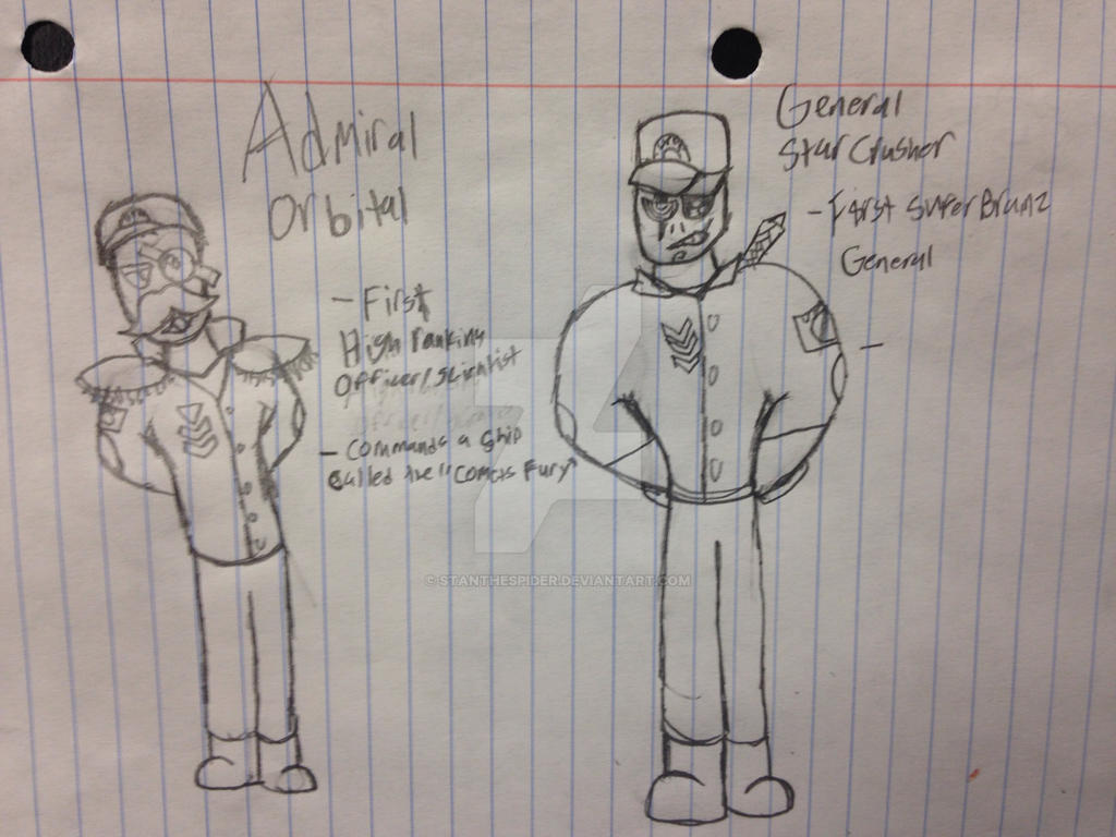 UPDF's Newest General and Admiral (PvZ) by StantheSpider