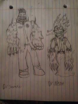 {PvZ} Dr.Savage and Dr.Neon