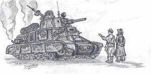 The Tank by Ulyanovetz