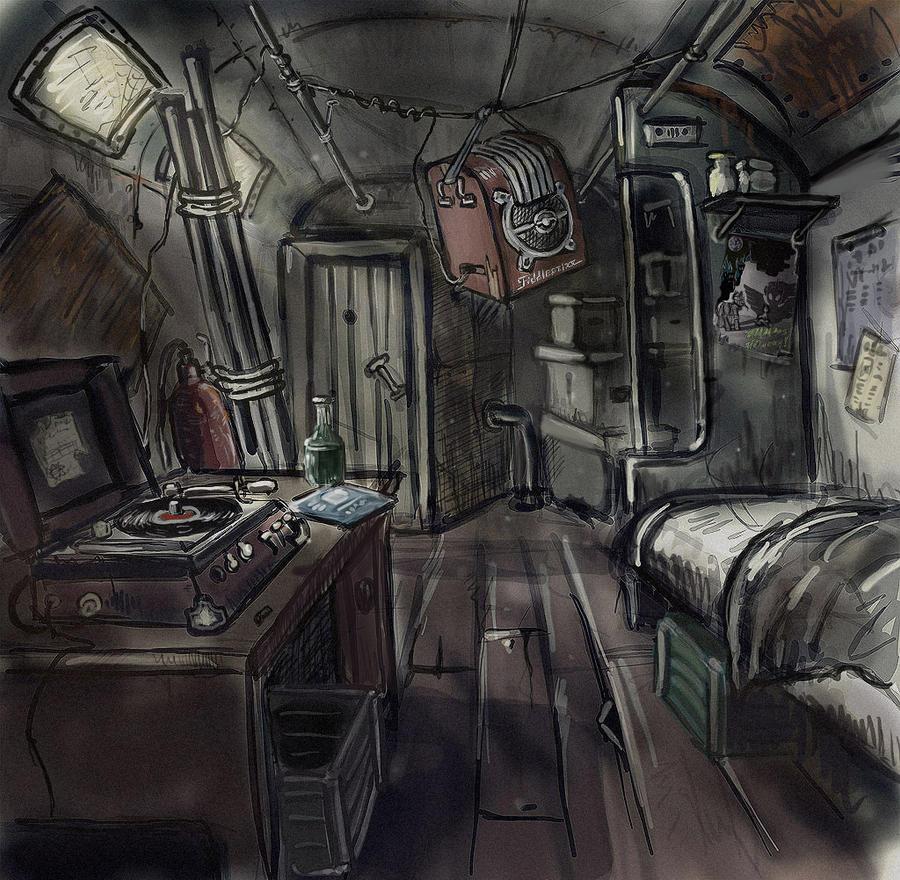 Jester's habitat by Ulyanovetz