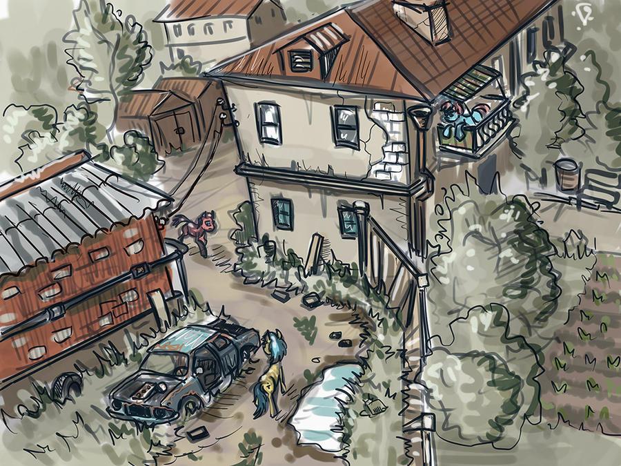Outskirts by Ulyanovetz