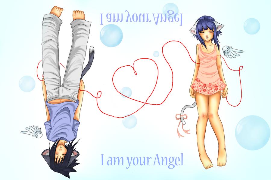 SasuHina: I am your Angel by drathe