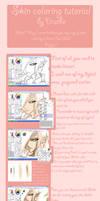 SAI skin coloring tutorial
