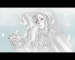 Dragonborn and Marcurio