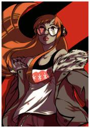 Persona 5: Futaba Sakura by drathe