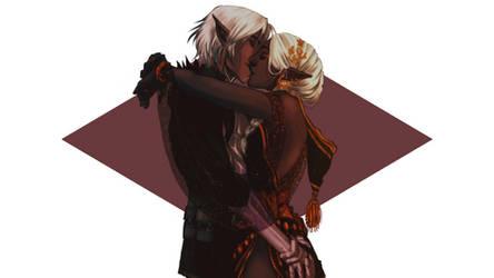 DA: kiss kiss by drathe