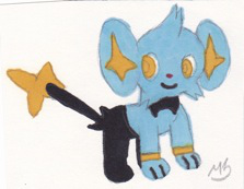 Shinx by Dawnfire2025