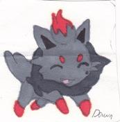 Zorua by Dawnfire2025