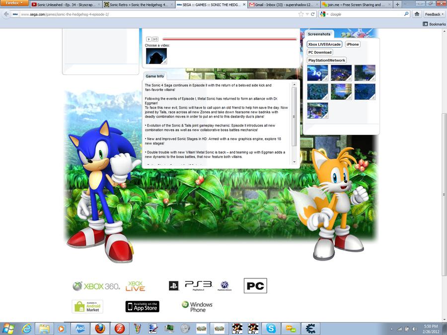 Sonic 4 Episode II by ShinSubarashiKage124