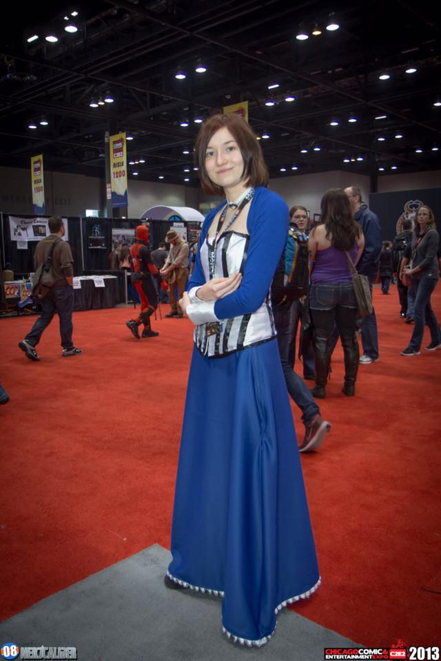 Happy Elizabeth~ (C2E2 2013) by silverthehedgehog78