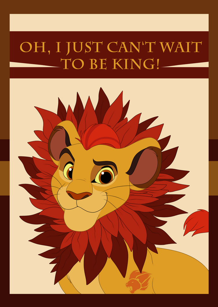 lion king cant wait to be king