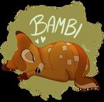 Sleeping Bambi