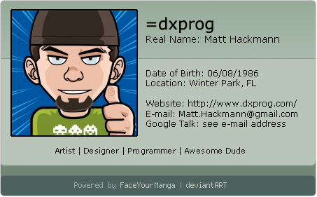 dxprog's Profile Picture