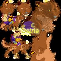 Ostria Ref Sheet by Gerundive