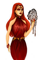Melisandre of Asshai by Enife
