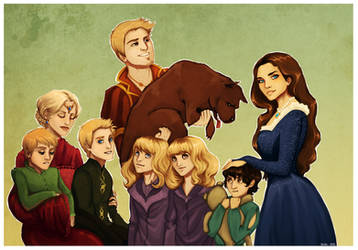 Request: Family portrait 2 by Enife