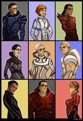 Mass Effect - aliens as humans