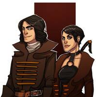 Greyjoy siblings by Enife