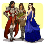 Commission: Heroes of Thedas