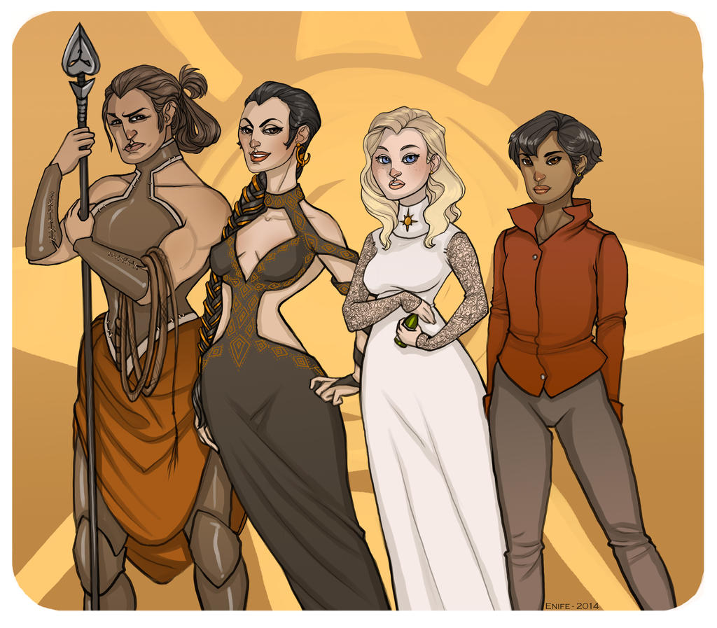 Sand Snakes by Enife