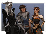 Commission: Of Inquisitors Champions and Heroes