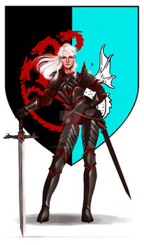 Commission: Visenya Targaryen