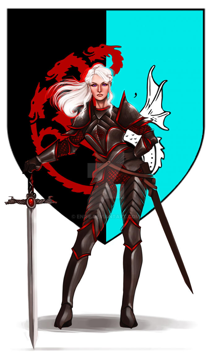 Commission: Visenya Targaryen by Enife