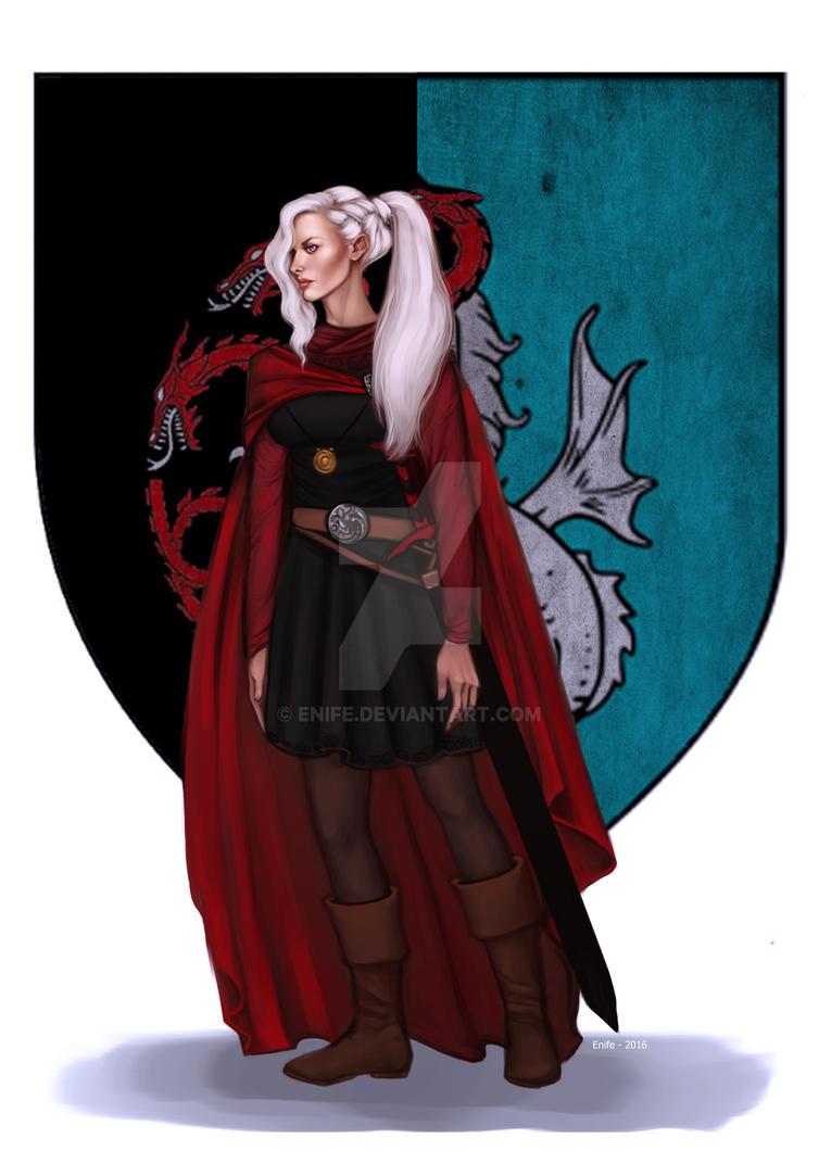 Commission: Visenya Targaryen by Enife