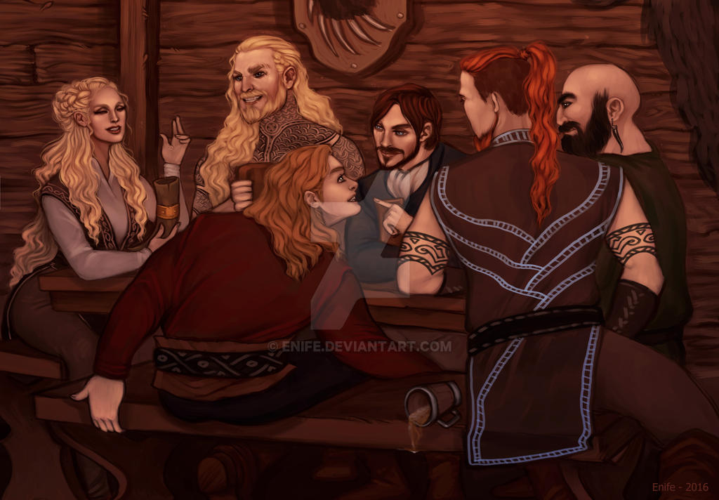 Commission: Tavern by Enife